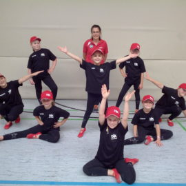Dancecamp der Gruppe Step by Step