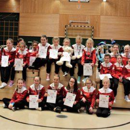 Rhönradturnerinnen der DJK Wissen-Selbach erzielen sieben Podestplätze