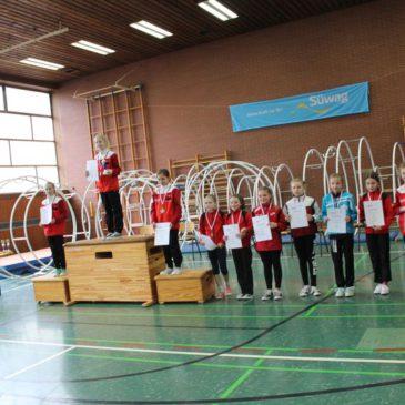 Medaillenerfolge der Rhönradturnerinnen der DJK Wissen-Selbach
