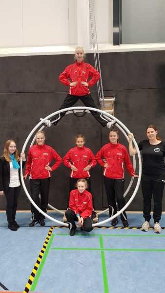 Wissener Rhönradturnerinnen beim Deutschland-Cup erfolgreich