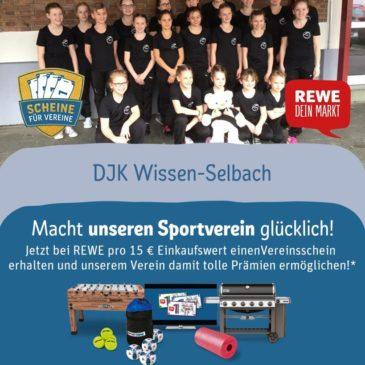 Scheine für Vereine – unterstützt die DJK Wissen-Selbach