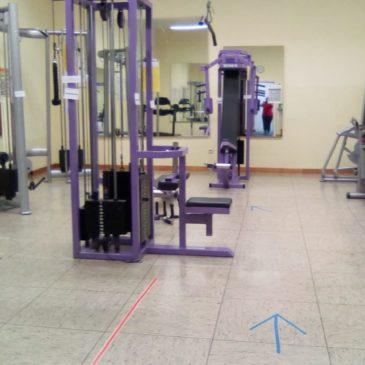 Fitness-Studio öffnet wieder ab 02.06.2020