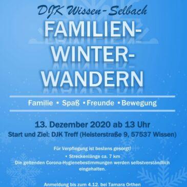 Einladung zum Familienwinterwandern am 3. Advent