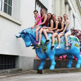 DJK-Rhönradturnerinnnen beim Rheinland-Pfalz Turnfest in Pirmasens